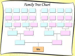 Family Tree Templates For Children