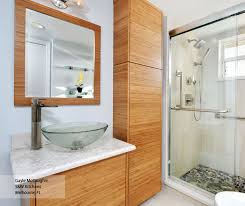 natural bamboo bathroom cabinets