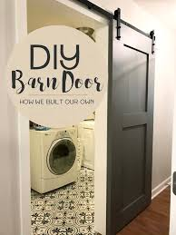 diy barn door tutorial