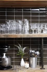 Kitchen Design Tiles Walls Lush 3x6 Reef Dark Brown Glass Subway Tile Glass Subway Tile