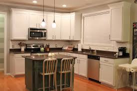 Small Picture Modren Painted White Kitchen Cabinets What Color To Paint Colorful