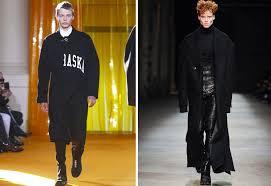 2016 17年秋冬メンズファッションちょいユルめコートがブームの