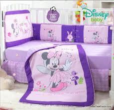 minnie mouse crib bedding set sheets