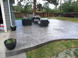 modern concrete patio. Modern Concrete Patio With Colored Dyed .