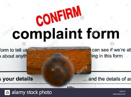 Complaint Form Stock Photos & Complaint Form Stock Images - Alamy