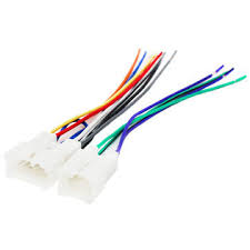 upstart components replacement radio wiring harness for 2009 toyota upstart components replacement radio wiring harness for 2009 toyota corolla xrs sedan 4 door 2 4l car stereo connector