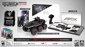 homefront the revolution map size homefront the revolution goliath edition for ps4 only ebay