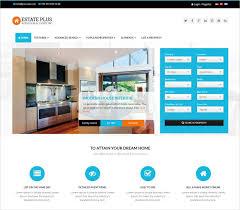 Real Estate Website Templates Delectable Best Real Estate Agent Website Templates 28 Best Real Estate Website