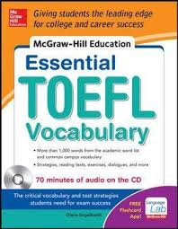 Career Test Free New McGrawHill Education Essential Vocabulary For The TOEFL R Test