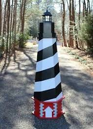 Small 3'6″, medium 4'6″, large 5'6″, or cape hatteras plans. Woodworking Project Plans For A 7 Ft Cape Hatteras Lawn Lighthouse Cd Via Mail Ebay