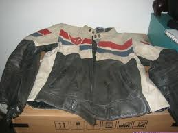 dainese g 8 track pelle leather jacket uk 44 with arm shoulder armour and unused liner