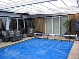 the beeches there s a sliding glass doors from room 2 to the pool area
