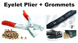 metal hole punch pliers home depot grommet punch leather hole eyelet pliers belt puncher plastic rubber