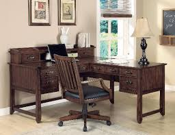 home office solutions. Home Office L-shape Wood Writing Desk Solutions