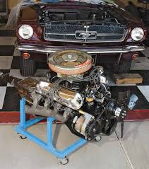 techtips ford small block general data and specifications this is a 1965 289 4v v 8 in gold over black premium fuel california emissions closed crankcase ventilation in a mustang all small blocks originally