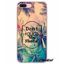 Htc M8 Designer Case Us 0 99 Designer Case Lock Screen Dont Touch My Phone For Htc U11 One M7 M8 A9 M9 M10 E9 Desire 630 530 626 628 816 820 Motorola G G2 G3 In