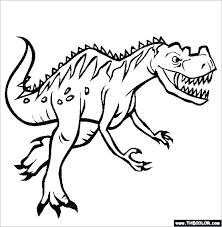 Realistic Dinosaur Coloring Pages X Dinosaur Printable Coloring