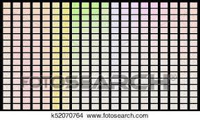 Color Shade Chart Color Palette Palette Of Colors Black Background Color