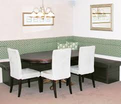 ... Dining Room, Booth Style Dining Room Sets Corner Nook Dining Sets White  Chair Color With ...
