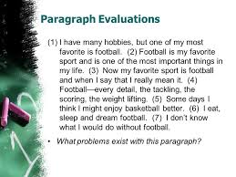 writing the paragraph ppt video online 12 paragraph evaluations