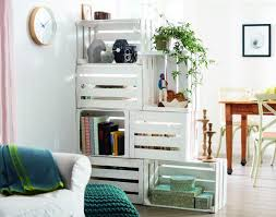 The same idea presented in white can be seen not as a barrier but as an  opportunity of gaining storage space.