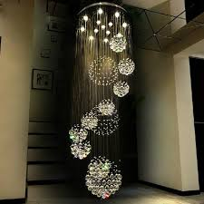 staircase lighting fixtures modern crystal chandeliers lights fixture big projects hotel hall