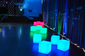 Glow Furniture Led Furniture Hire Wireless And Colour Changing Seats Tables
