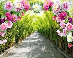Online Shop <b>beibehang Custom Photo Wallpaper</b> Mural 3D Flower ...