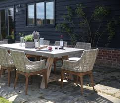 polished concrete furniture. Roma Polished Concrete Outdoor Dining Table 200cm / 240cm Furniture