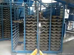 best automatic clay tile press making machine clay roof tile making machine
