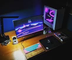 stylish office desk setup. Very Simple, But Stylish Setup. Pc SetupOffice SetupDesk Office Desk Setup T
