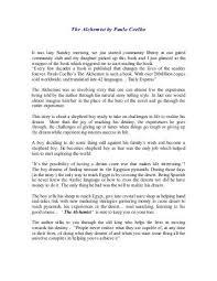 the alchemist essay eleven essay titles the alchemist by ben view larger