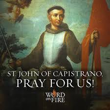 Image result for st. john of capistrano