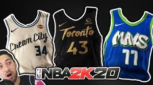 City Jerseys NBA 2K20 Update ...
