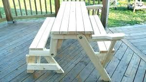folding table foot 2x4