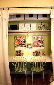 organize office closet. organize your home office closet cute little cafe style in a