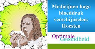Medicijnen hoge bloeddruk