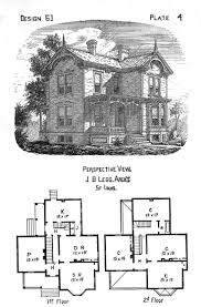 vintage farmhouse floor plans 1890