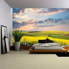 digital art wall decals field of