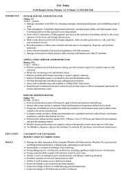 Server Administrator Resume Samples Velvet Jobs