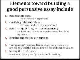 argumentative essay persuasion in writing 3 here are some strategies