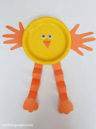 40 simple easter crafts for kids baby paper plate craft
