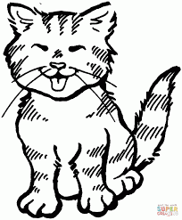 Small Picture Download Coloring Pages Kittens Coloring Pages Kittens Coloring