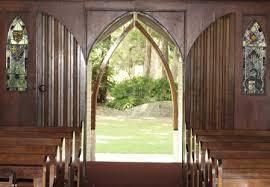 looking out door. Looking Out Church Door