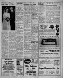 Bob Evans Logan Ohio The Logan Daily News From Logan Ohio On September 12 1970