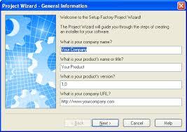what is windows installer setup factory screenshots indigo rose software