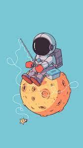 Astronaut wallpaper, Galaxy wallpaper ...