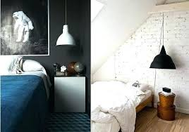 pendant lighting plug in. Hanging Lamp Plug Into Wall In Lamps Black And White Pendant Light Bedroom Via Design Lovers . Lighting E