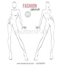 Costume Drawing Template Fashion Design Male Templates Printable For Men Figure Illustration