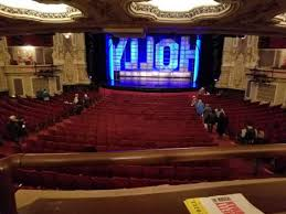 Nederlander Seating Chart Chicago Nederlander Theatre Chicago Section Dress Circle C Row A